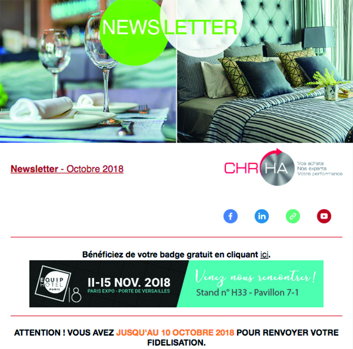 Newsletter CHR-HA Octobre 2018